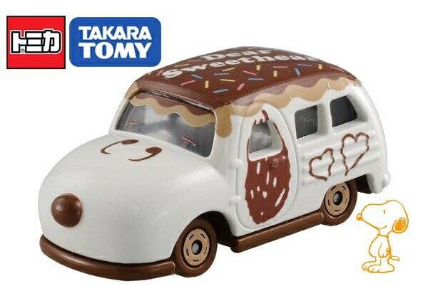 【真愛日本】17011000007TOMY車-SP史努比情人節版 史奴比 史努比 SNOOPY 模型車 模型玩具 正品