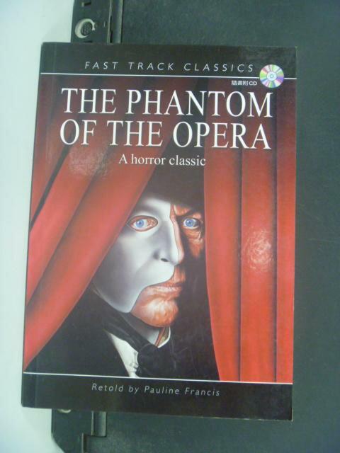 【書寶二手書T6/原文小說_GBR】Phantom of the Opera_附光碟