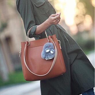 休閒大容量子母包 簡約純色托特包 手提包 斜背包 BR0033【雅韓時尚館】