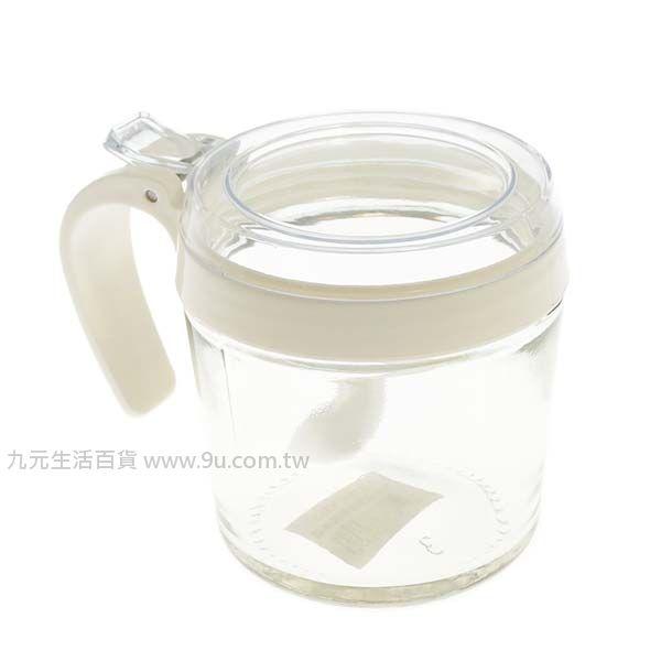 【九元生活百貨】美廚圓型玻璃調味盒 調味罐 鹽罐 胡椒罐