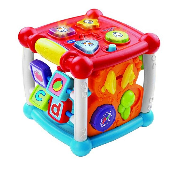 【寶貝樂園】Vtech聲光互動學習盒