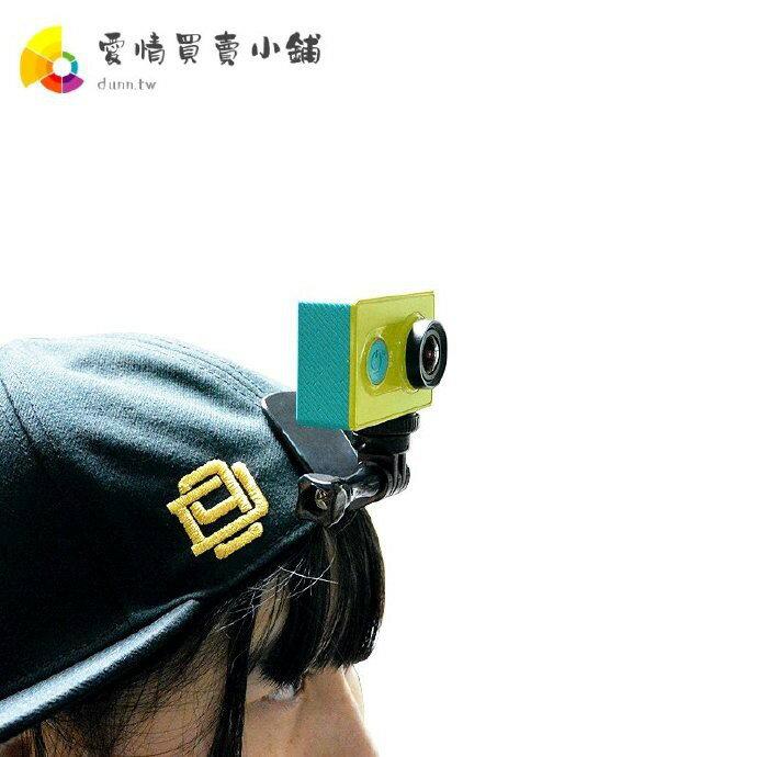【數碼配件】 gopro hero7/6/5/4/小蟻4K運動相機/帽子夾固定支架 配件 小買賣 愛尚優品