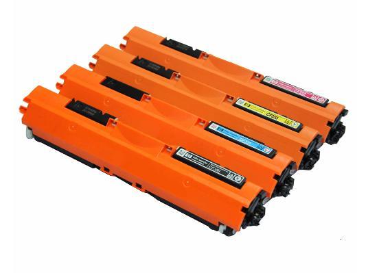 HP 環保碳粉匣CF350A黑色/CF351A藍色/CF352A黃色/CF353A紅色 單支任選 130A 適用HP Color LaserJet Pro MFP M176 /MFP M177fw雷射印表機