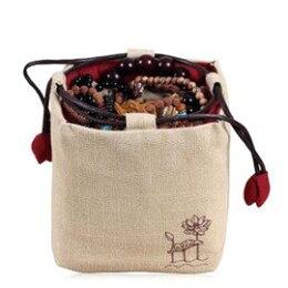 收納包 麻布 純手工茶壺布袋 便攜 旅行茶具 多款