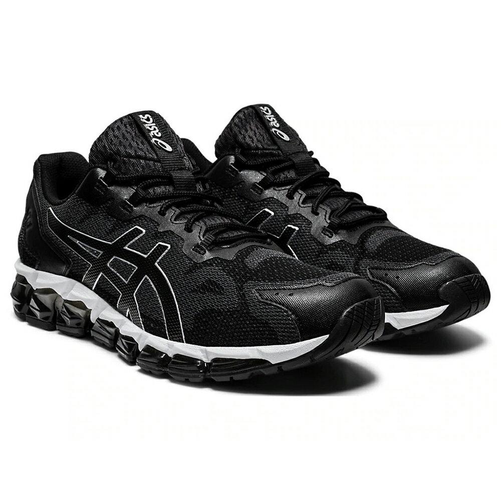 【滿額最高折318】ASICS GEL-QUANTUM 360 6 男鞋 慢跑 輕量 緩衝 黑 白【運動世界】1021A337-020