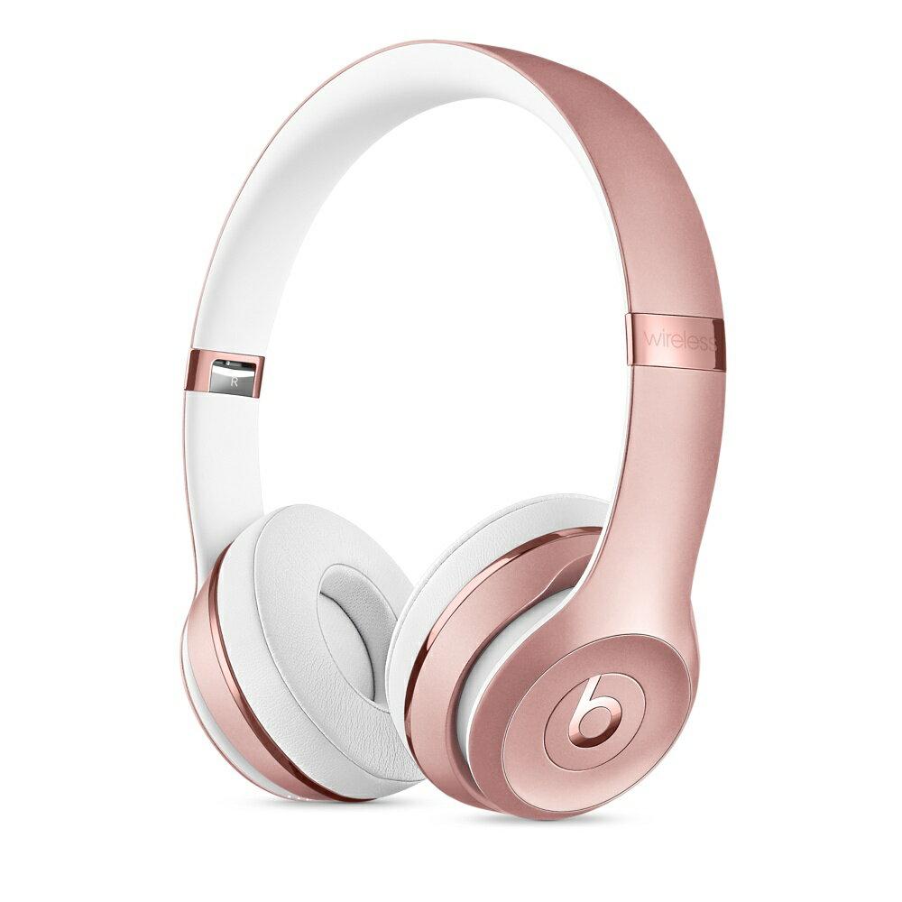 Beats Solo3 Wireless On-Ear Headphones - Rose Gold 3