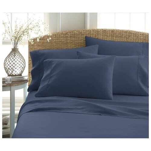 Home Collection Premium Ultra Soft 6 Piece Bed Sheet Set 0
