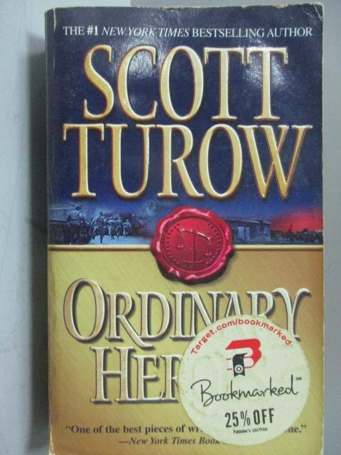 ~書寶 書T7/原文小說_OQE~Ordinary Heroes_Scott Turow