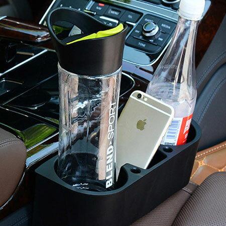 車用 椅縫多功能置物架(1入) 車用飲料架 座椅縫隙塞 支架 雜物 手機座 汽車【B062114】