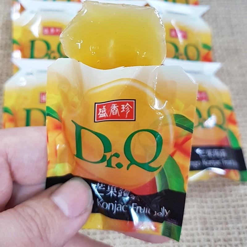盛香珍Dr.Q蒟蒻果凍-芒果口味 600g(約25個)【2019070800026】(台灣果凍)