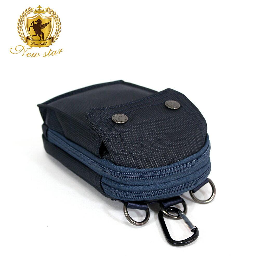 腰包 輕便素面迷彩雙層掛包側背包手機包包 NEW STAR BW33 5