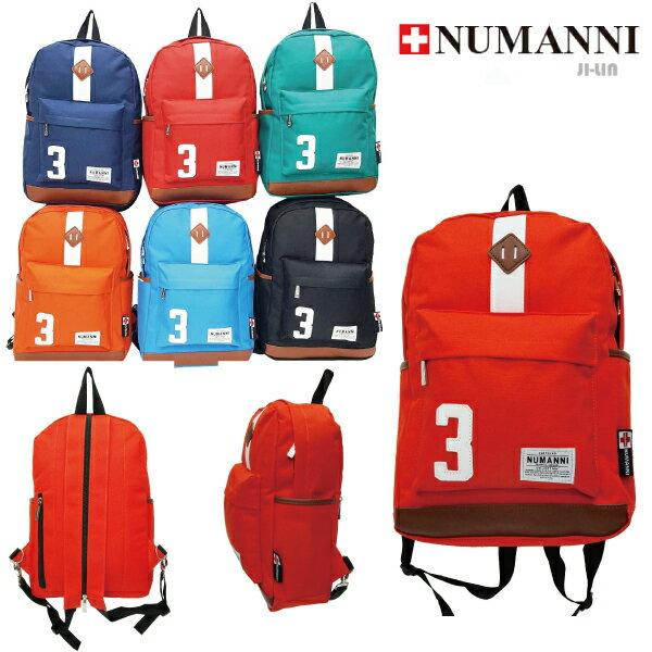 25-8826【NUMANNI 奴曼尼】美式休閒小3電腦後背包 (六色)