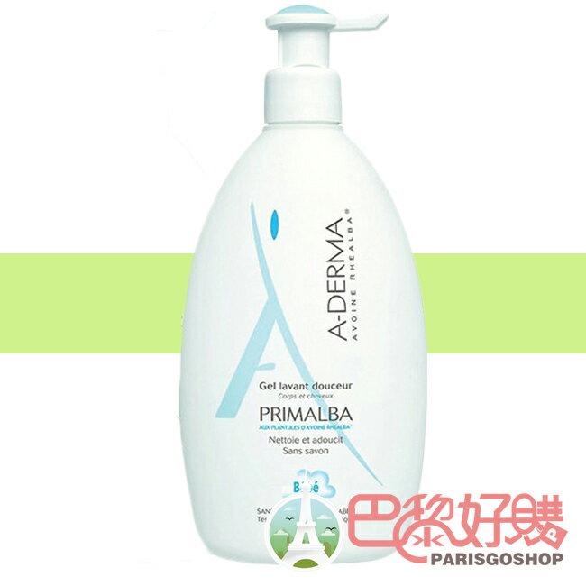 A-Derma 艾芙美 燕麥新葉寶貝洗髮沐浴精 500 ML 二合一