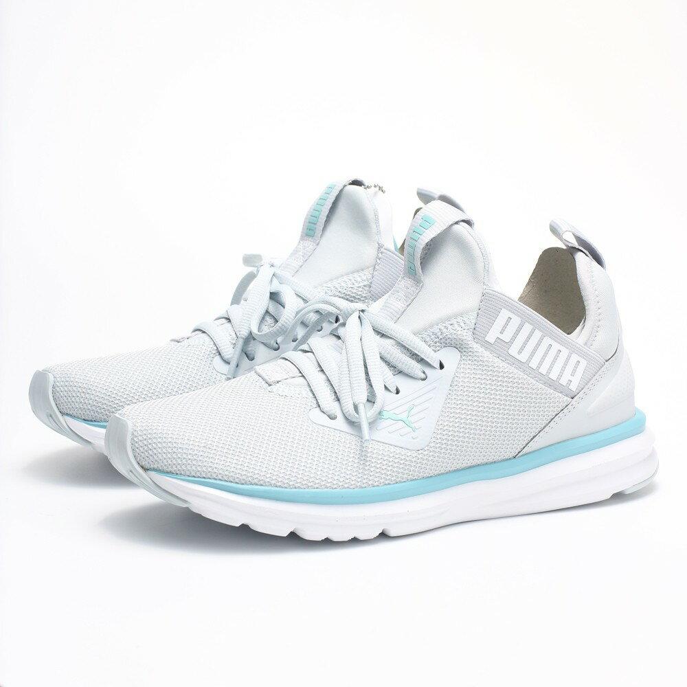 PUMA ENZO BETA WNS 灰水藍襪套式運動鞋女