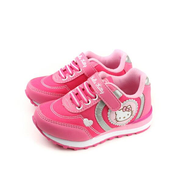 HelloKitty凱蒂貓運動鞋童鞋粉紅色中童718627no761