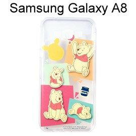 迪士尼透明軟殼 [人物] 小熊維尼 Samsung A8000 Galaxy A8【Disney正版授權】