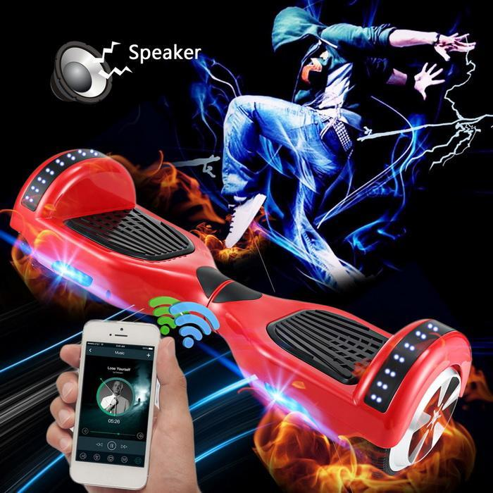 Bluetooth 6.5inch 2 Wheels Electric Self-Balancing Smart Drifting Scooter 4