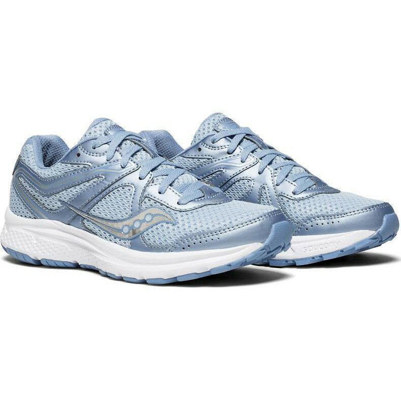 Saucony 18SS 入門款 緩衝型 女慢跑鞋 COHESION 11系列 S10420-3 贈MIT運動襪【樂買網】