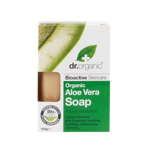 Dr. Organic 丹霓珂 蘆薈肌礎皂100g