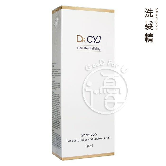DR CYJ 胜肽賦活洗髮精 150ml / 瓶【i -優】 - 限時優惠好康折扣