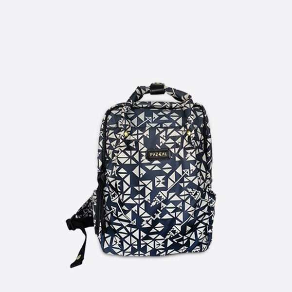 PAZEAL / Puffy Backpack 後背包 (mini / 迷你 / 藍絲絨) 尺寸 20L*9W*29H CM