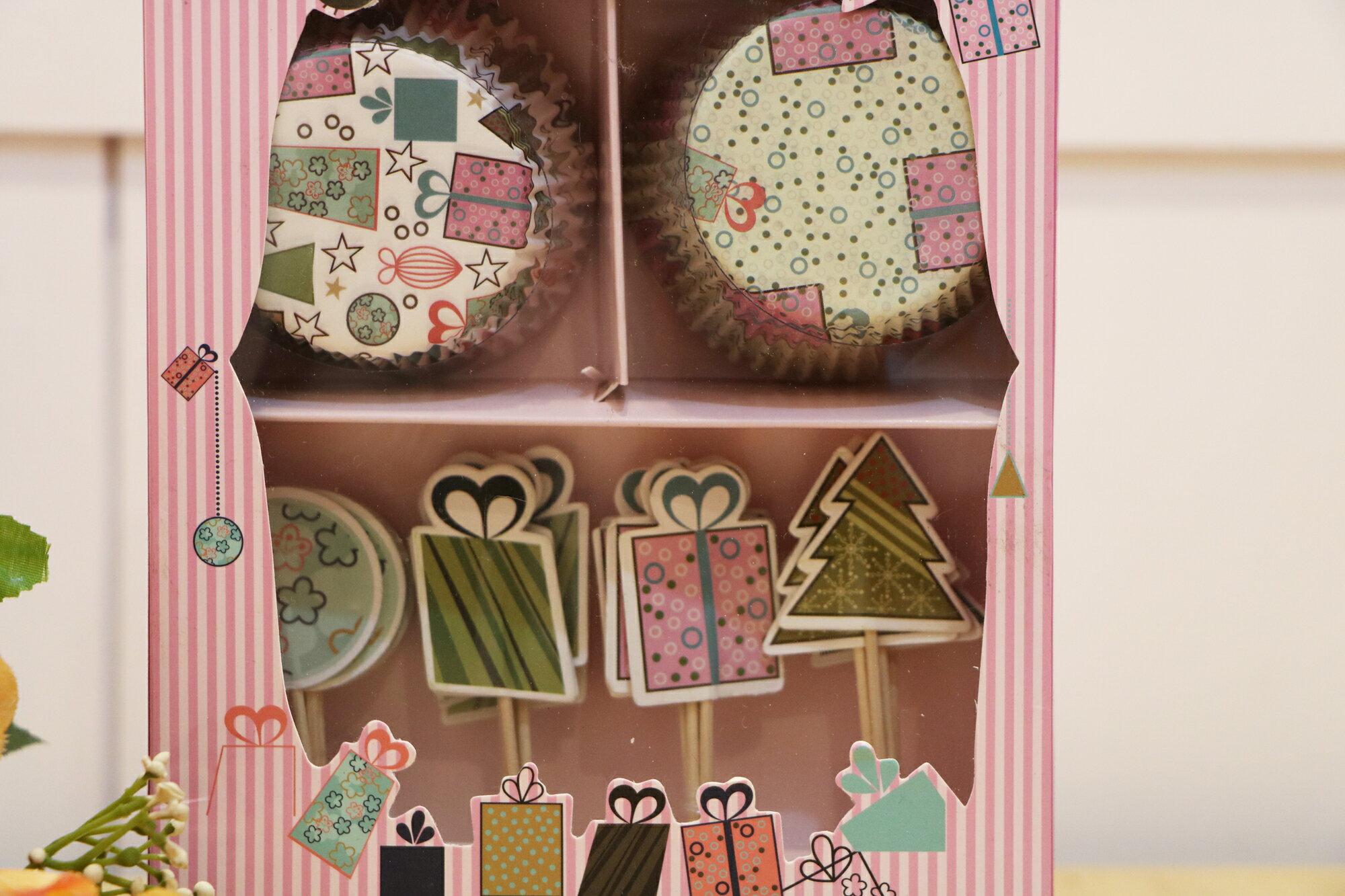 杯子蛋糕裝飾插組-派對時刻