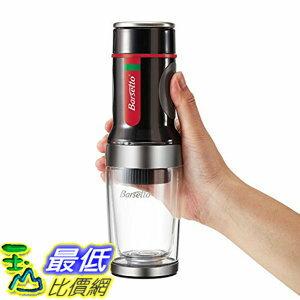 [106美國直購] 咖啡機 Barsetto Portable Espresso Coffee Maker Tripresso for Coffee Capsules Powder