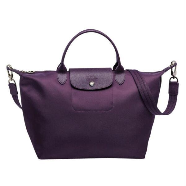 Topshop:LONGCHAMP1515578001新款水餃包時尚潮流女款尼龍中號手提斜背包
