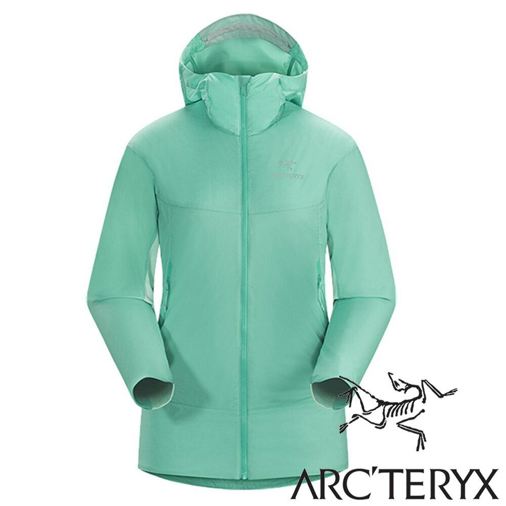 Arc'teryx 始祖鳥 Atom SL 輕薄保暖連帽外套 女『漂流者綠』17309 抗UV│健身外套│路跑慢跑單車外套│釣魚外套│皮膚外套