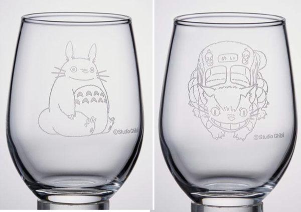 日本製 龍貓玻璃杯水杯公車863308