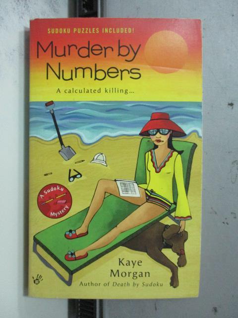 【書寶二手書T5/原文小說_OCP】Murder by Numbers_Kaye Morgan