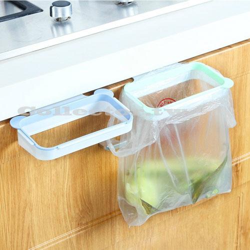【F16102102】創意輕巧熊貓耳造型垃圾袋掛架 可掛式垃圾架 可移動的垃圾桶架