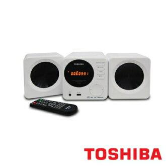 TOSHIBA TY-ASW81TW 東芝 藍芽數位組合音響 支援CD/MP3/USB播放 藍芽3.0功能可直接手機連接 骰子音響 公司貨 0利率 免運