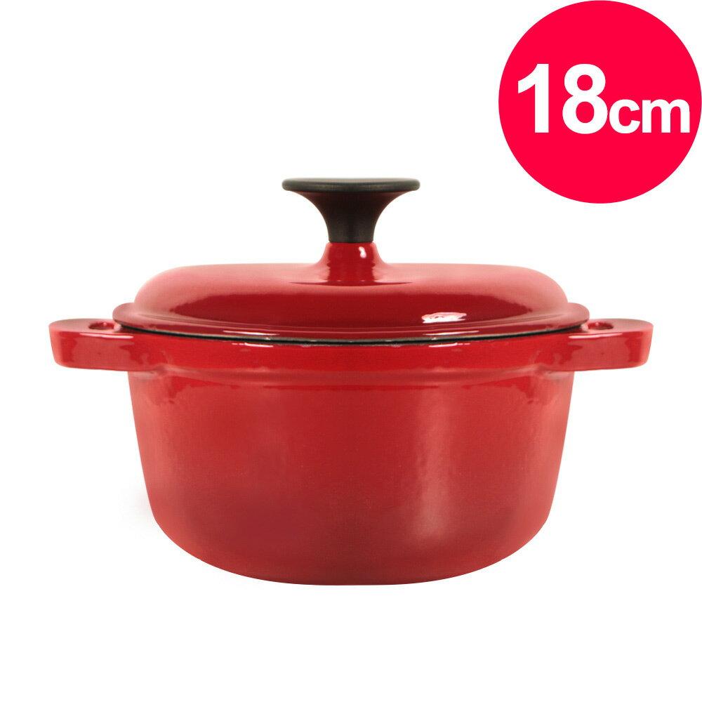 清水 琺瑯鑄鐵湯鍋18CM(MF0382S)