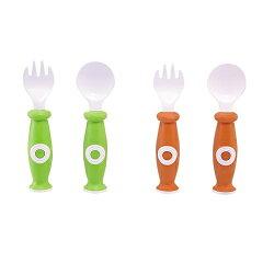 小獅王辛巴Simba 安全餐具組/學習叉匙組-2入S3339(顏色隨機出貨)★衛立兒生活館★