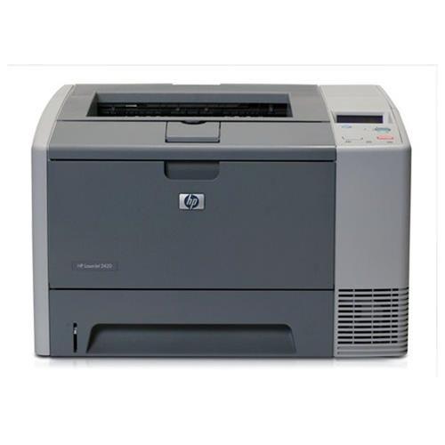HP LaserJet 2420 1200dpi USB/Parallel B/W Laser Printer 1