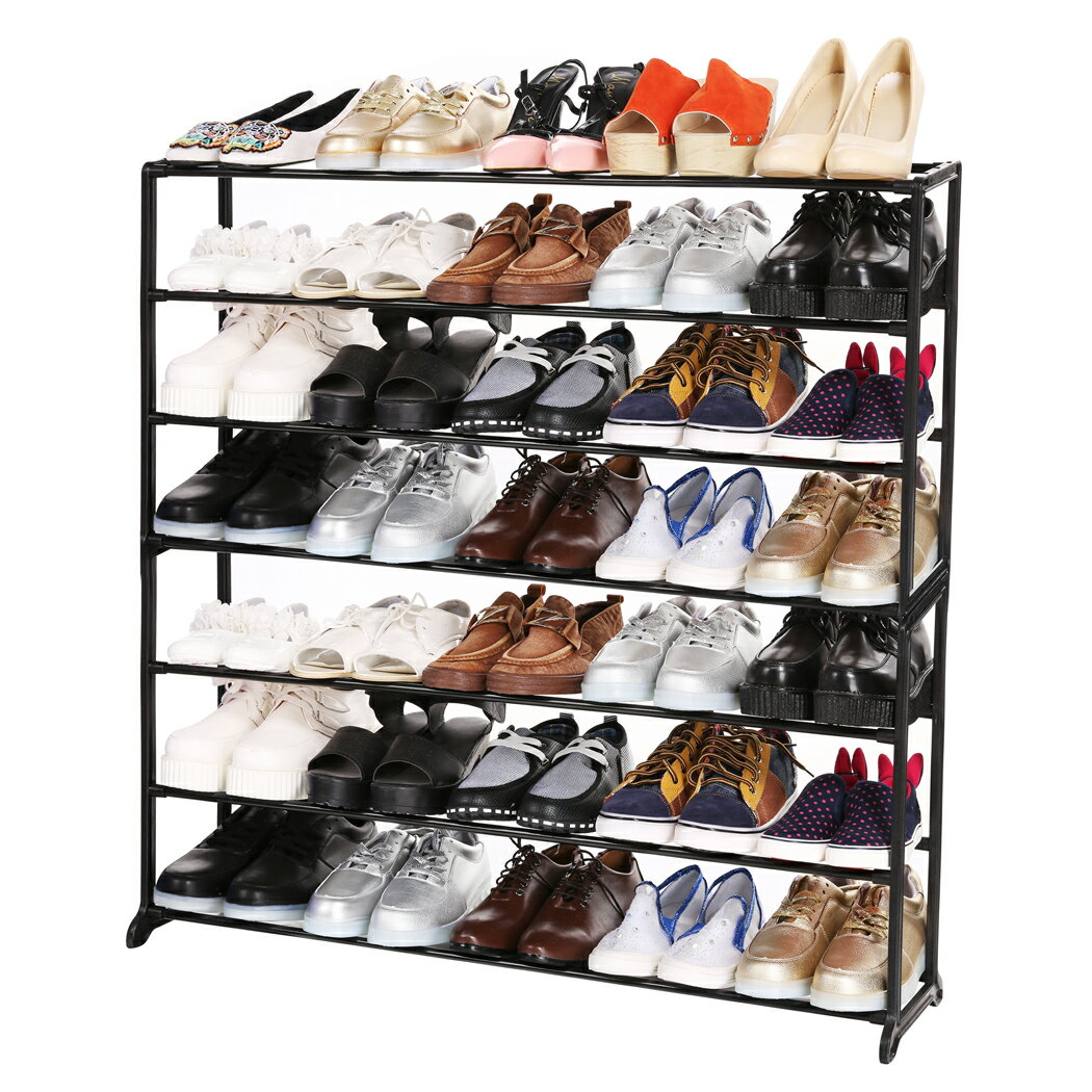 Portable 4/7/10 Tier Shoes Rack Stand Shelf Shoes Organizer Storage 2