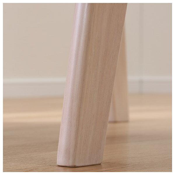 ◎(OUTLET)實木餐椅 RELAX WW / GY 橡膠木 福利品 NITORI宜得利家居 5