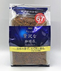 [哈日小丸子]AGF華麗香醇咖啡補充包(135g)