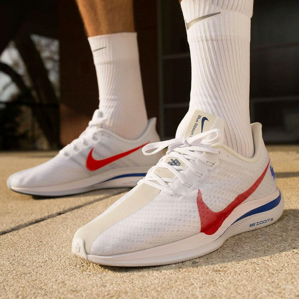 【日本海外代購】Nike Zoom Pegasus 35 Turbo 白 紅 藍 慢跑鞋 男鞋 CJ8296-100