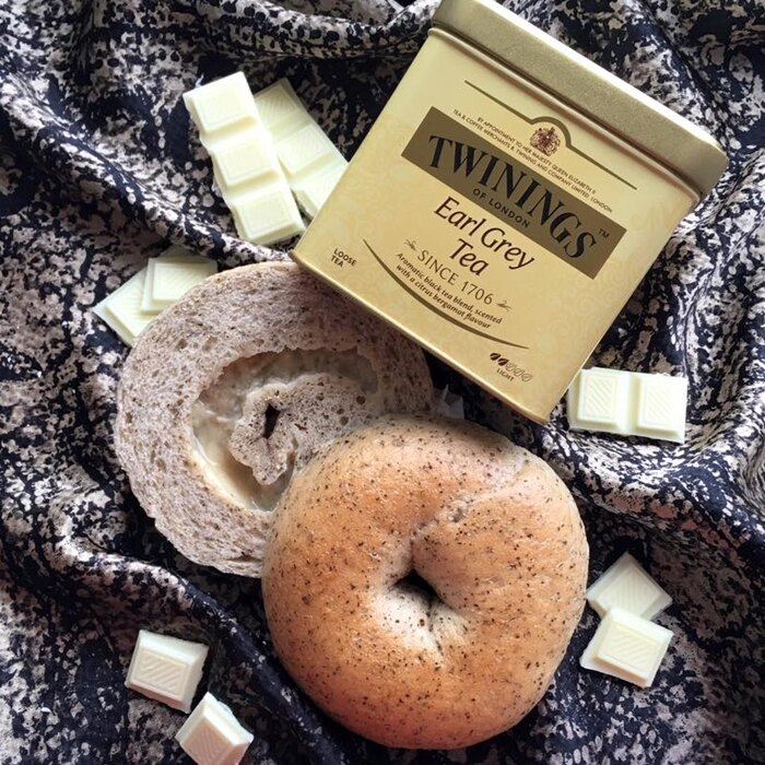 《Milky Cookie》伯爵茶巧克力貝果    1入