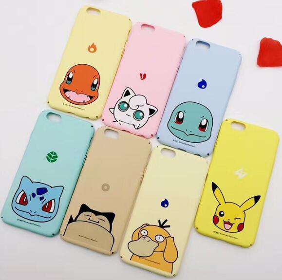 寶可夢 pokemon Go 皮卡丘 神奇寶貝蘋果6s/6s plus iphone磨砂手機殼保護殼