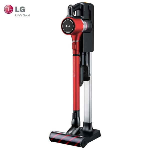 LG樂金A9PBED2R吸塵器氣旋金屬濾網前置濾網HEPA濾網LGCordZero™A9+快清式無線吸塵器時尚紅