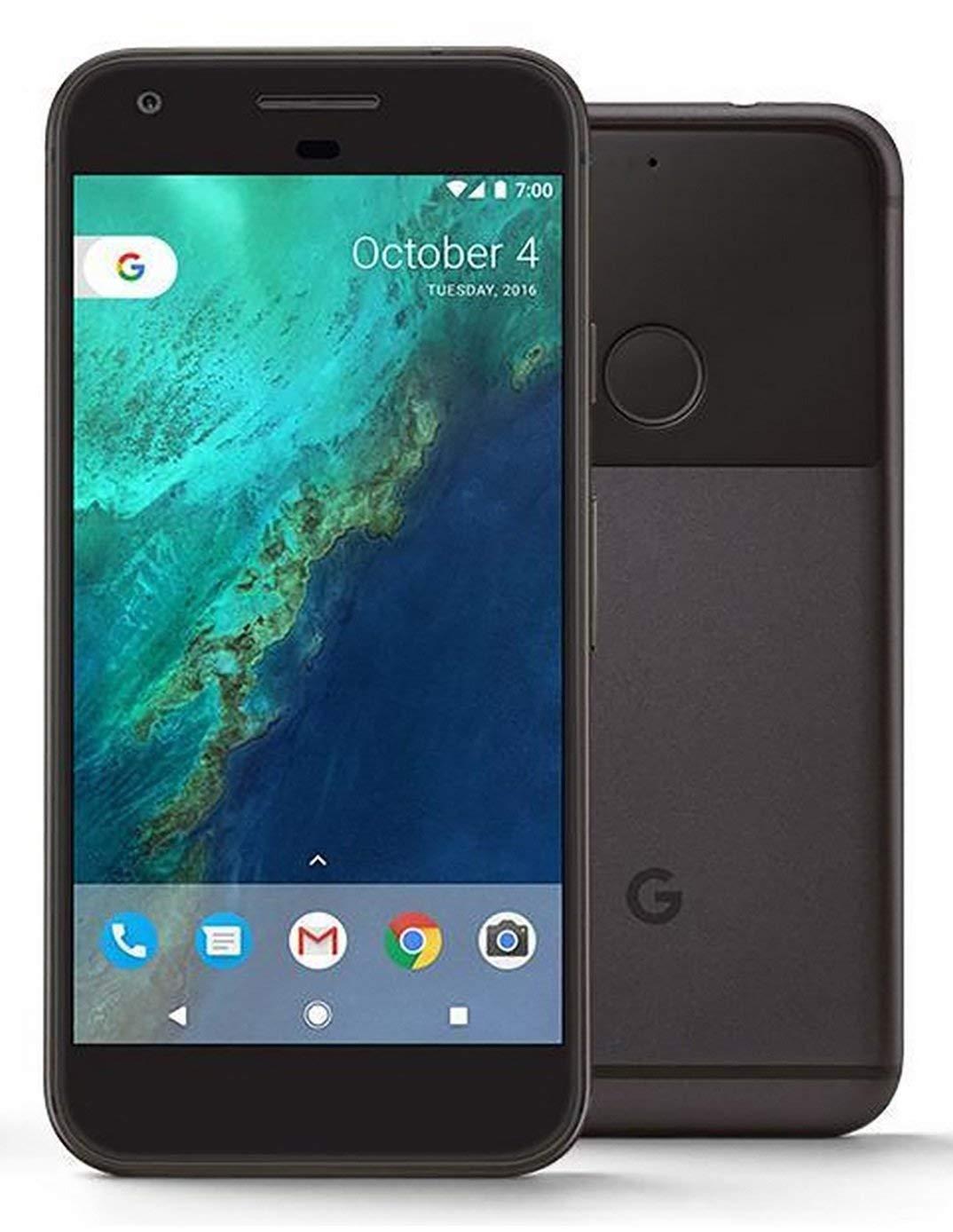 Google Pixel XL 128GB Unlocked GSM Phone w/ 12 3MP Camera - Quite Black