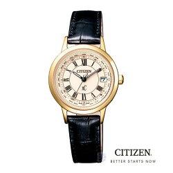 【時光鐘錶】CITIZEN 星辰 xC EC1142-05B 光動能 超級鈦 電波 女錶