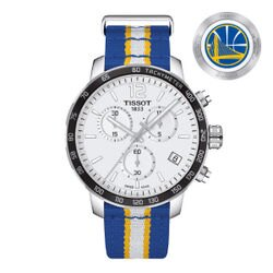 TISSOT天梭T0954171703715 勇士隊特別版計時腕錶/白面42mm