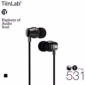 TiinLab Crystal of TFAT CT 水晶 系列 CT531 周杰倫 調音 入耳式 耳機 鎳鐵黑