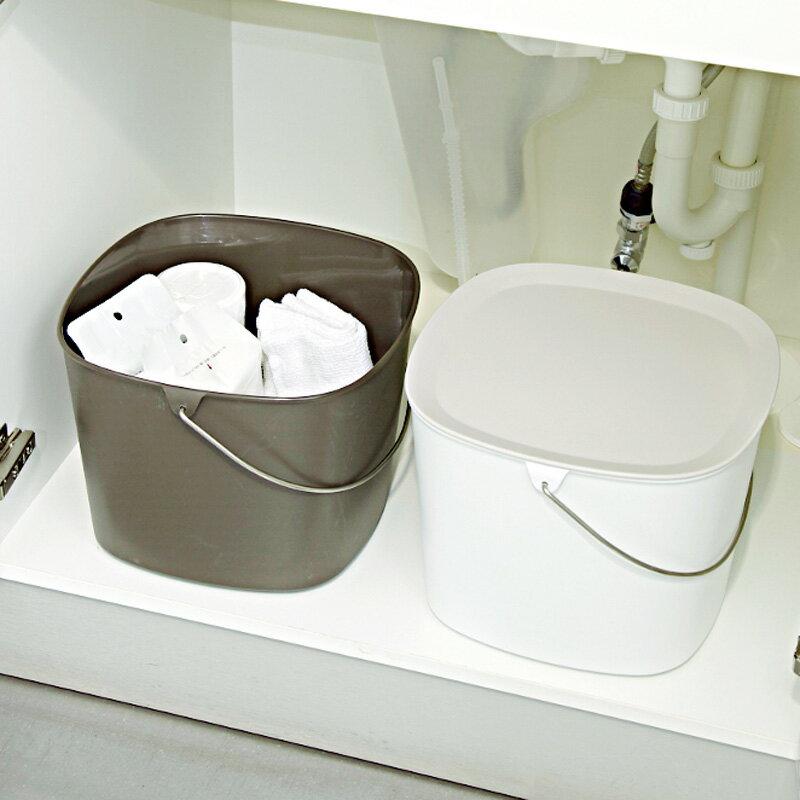 日本tidy時尚簡約收納桶x1 2