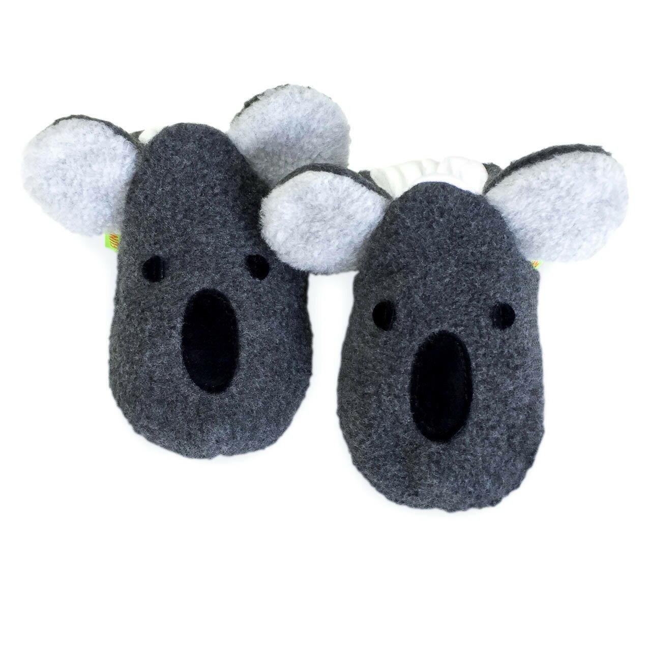 英國 Funky Feet 手工學步鞋 室內鞋 無尾熊 6-24M