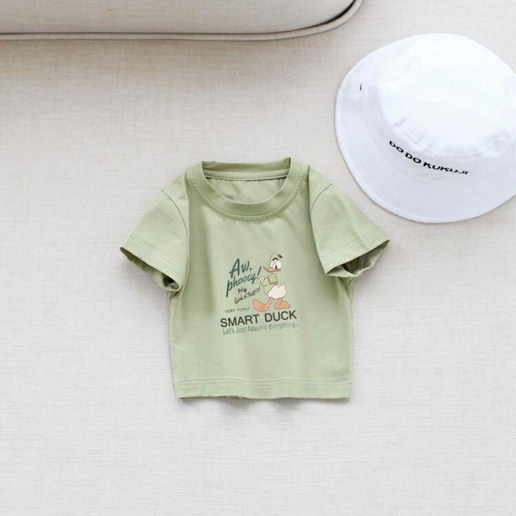 「樂天優選」一家三口親子裝出游情侶裝夏裝潮母子母女裝兒童夏季洋氣短袖t恤
